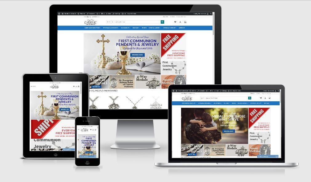 Catholic Saint Medals - 815 Web Designs